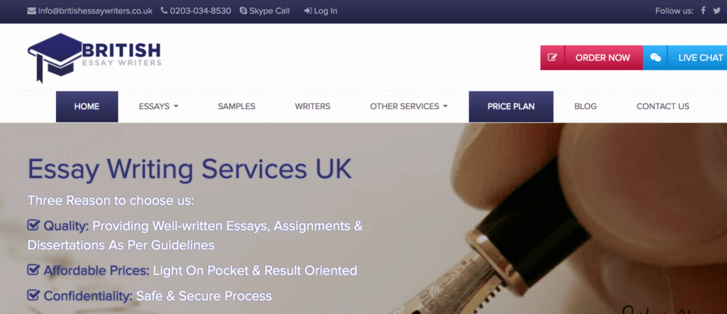 Services Proposal  Online Writing Lab At Purdue University also Synthesis Essay Topics Review Of Britishessaywriterscouk  Top Essay Wtiting Service Reviews Persuasive Essay Sample High School