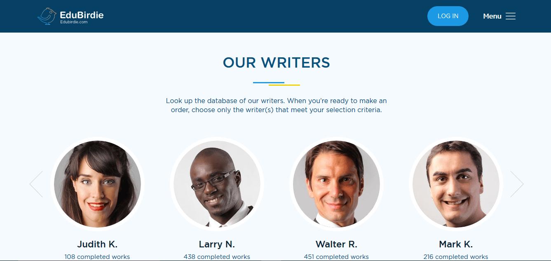 Edubirdie.com Writers