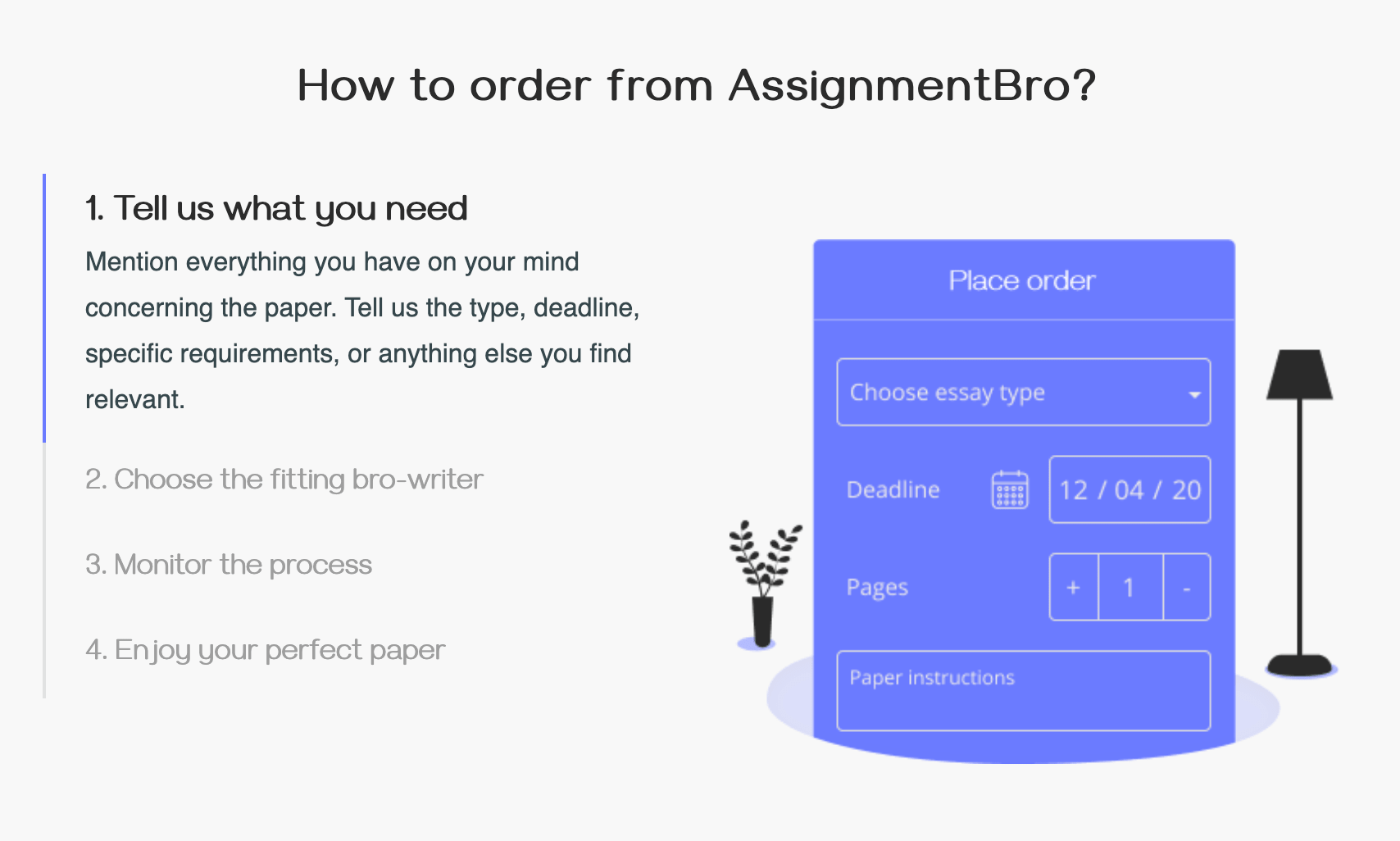 how to order at assignmentbro.com